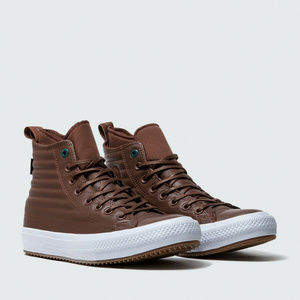 Converse Mens CTAS WP Boot Hi Brown Leather SHOES
